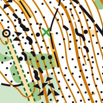 Etap 1 - Spalona - mapa 1