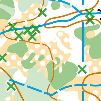 Etap 3 - Lasówka - mapa 1